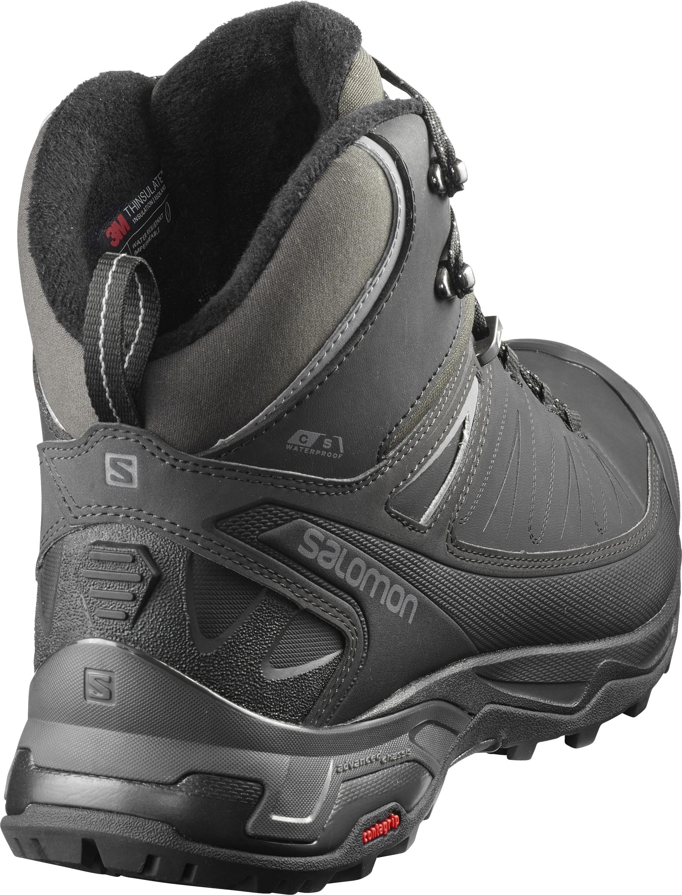 9c373592 Salomon X Ultra Mid CS WP Shoes Men black/phantom/quiet shade at ...